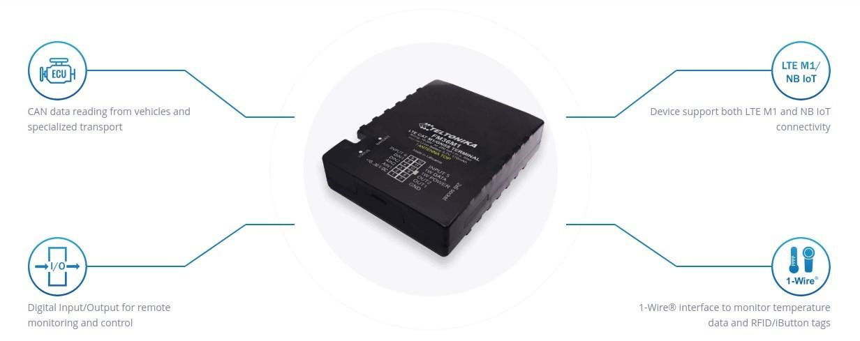 Teltonika FM36M1 LTE GPS Router Overview