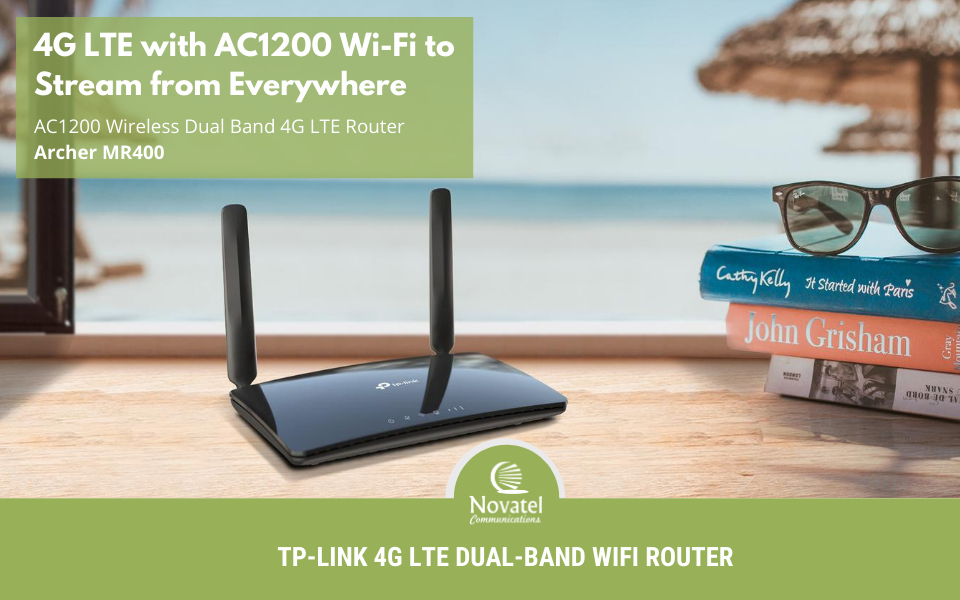 Reference Image: TP-Link Archer MR400 4G LTE Router Banner