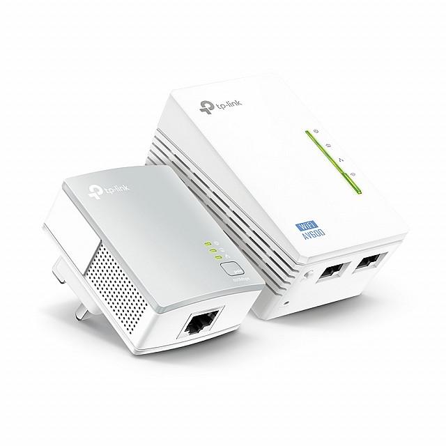 TP-Link TL-WPA4220 KIT 2 Powerline Universal Wi-Fi Range Extender