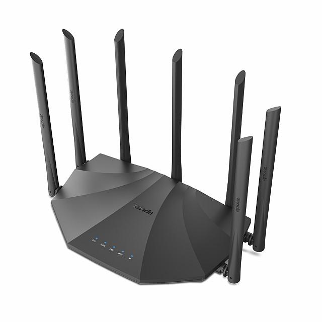 Tenda AC23 - AC2100 Dual Band Gigabit WiFi Router with 4X4 MU-MIMO